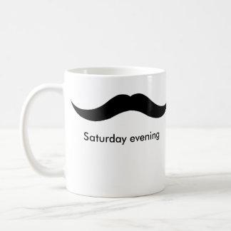 Caneca De Café fim de semana do moustache