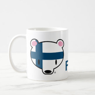Caneca De Café Finlandia kuma-chan