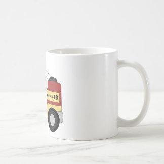 Caneca De Café Firetruck