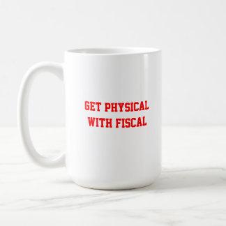 Caneca De Café Fiscal Penhasco-obtenha físico com fiscal