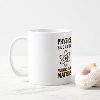 Caneca De Café Física porque nada matérias outras agride