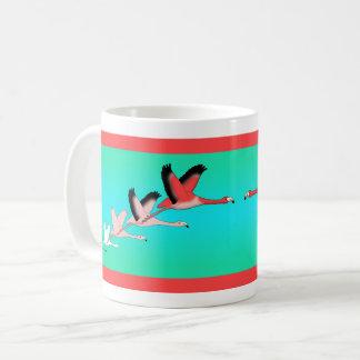 Caneca De Café Flamingo taça
