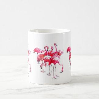 Caneca De Café Flamingos