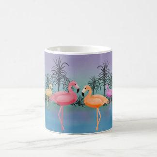 Caneca De Café Flamingos fabulosos