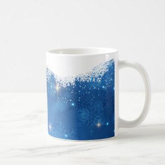 Caneca De Café Flocos de neve Sparkling de Frost