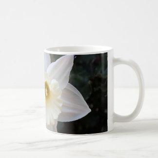 Caneca De Café Flor branca