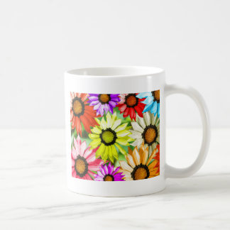 Caneca De Café Flor colorida do Gerbera floral