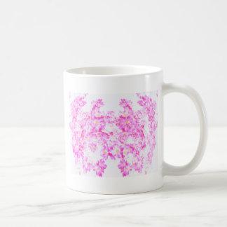 Caneca De Café Flor cor-de-rosa do Dogwood
