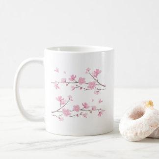 Caneca De Café Flor de cerejeira