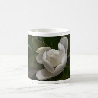 Caneca De Café flor em botão branca de magnólia do sul