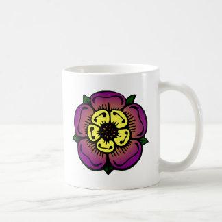 Caneca De Café Flor roxa
