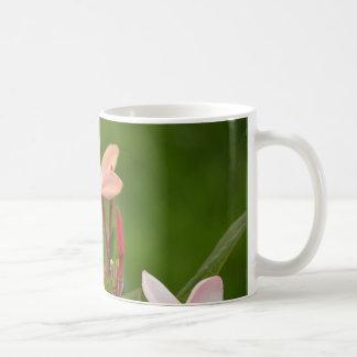 Caneca De Café Flores cor-de-rosa