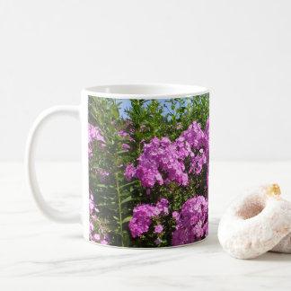 Caneca De Café Flores cor-de-rosa para o dia das mães