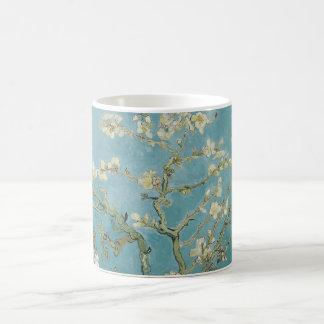 Caneca De Café flores da amêndoa de Van Gogh
