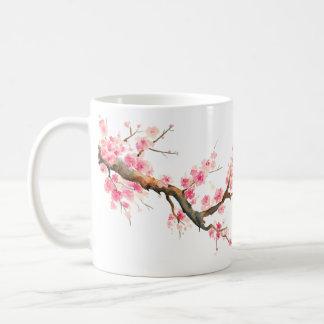 Caneca De Café Flores da flor de cerejeira