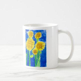 Caneca De Café Flores da manhã