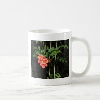 Caneca De Café Flores da meia-noite