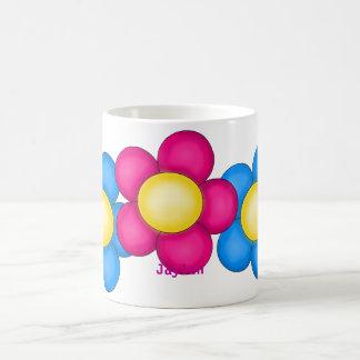 Caneca De Café Flores do primavera