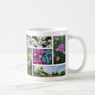 Caneca De Café Flores do verão