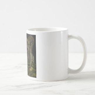 Caneca De Café Floresta dentro de um tigre