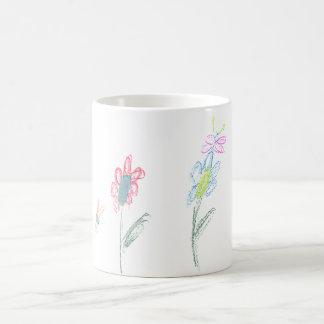 Caneca De Café flower power