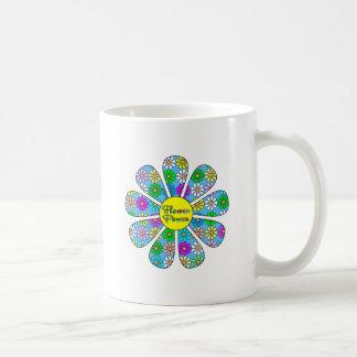Caneca De Café Flower power feliz
