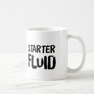 Caneca de café fluida do acionador de partida