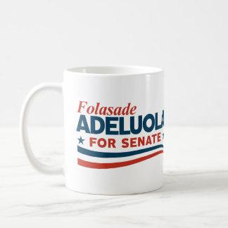 Caneca De Café Folasade Adeluola para o Senado