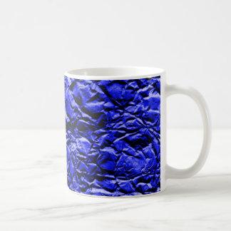 Caneca De Café Folha azul #2