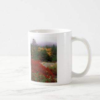 Caneca De Café Folha do parque nacional do Acadia