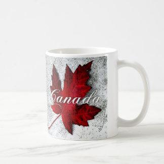 Caneca De Café folha vermelha Canadá