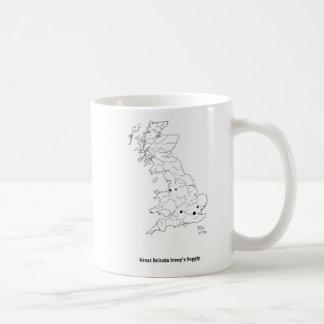 Caneca De Café Fonte da ironia de Grâ Bretanha