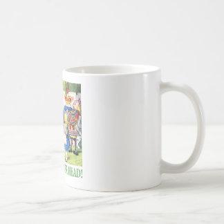 Caneca De Café Fora com de sua cabeça!