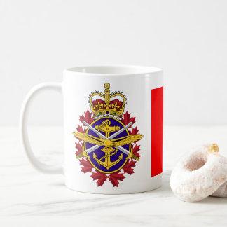 Caneca De Café Forças armadas do canadense