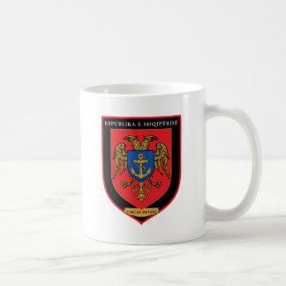 Caneca De Café Forças navais albanesas - Forcat Detare