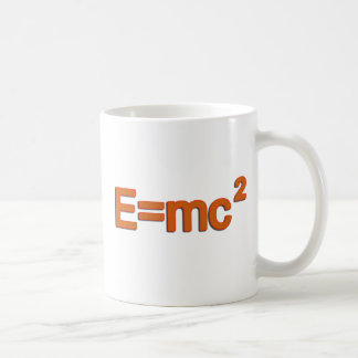Caneca De Café Fórmula E=mc2