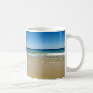 Caneca De Café Foto da praia