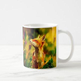 Caneca De Café Fox do primavera
