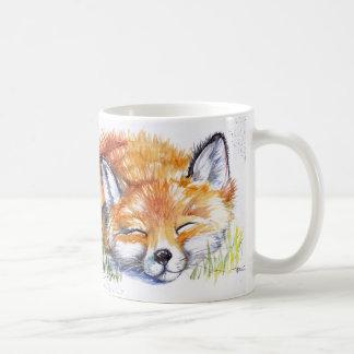 Caneca De Café Fox do sono