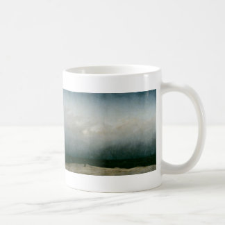Caneca De Café Frade pelo mar - Caspar David Friedrich do