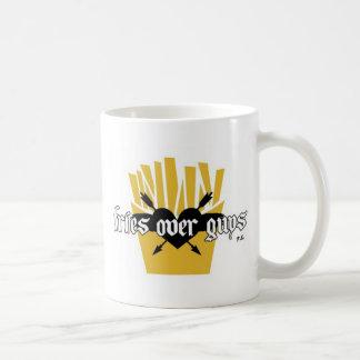 Caneca De Café Fritadas sobre o slogan das caras
