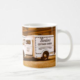 Caneca De Café Frota de caminhão do requeijão de Borden