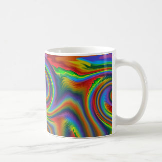 Caneca De Café Fulgor solar do arco-íris