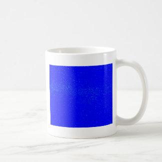 Caneca De Café Fundo azul da mancha