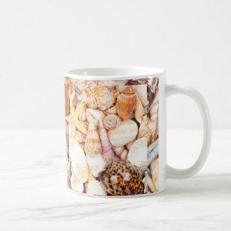 Caneca De Café Fundo dos Seashells