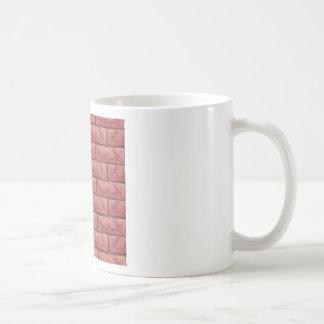 Caneca De Café Fundo sem emenda da textura da parede de tijolo