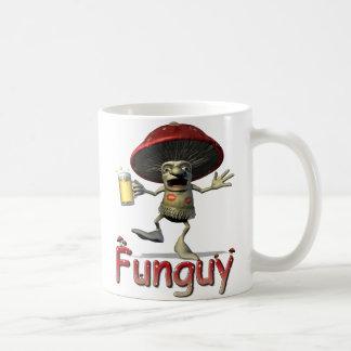 Caneca De Café Funguy