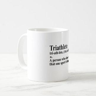 Caneca De Café Funny triatlo definição - Coffee Mug