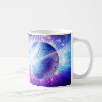 Caneca De Café Futebol de brilho da bola de futebol