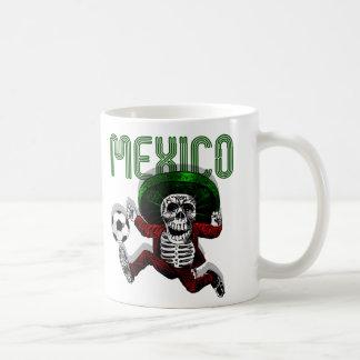 Caneca De Café Futebol do EL do futebol de México tri além dos